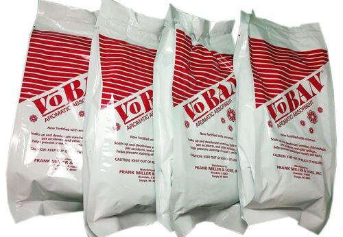 VOBAN (VOMIT - URINE - LIQUID CLEANUP ABSORBANT) 4 EACH 1 LB BAGS