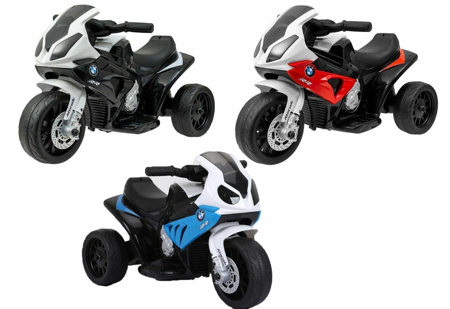 Kinder Elektro BMW Motorrad RR Elektromotorrad BMW Kindermotorrad Dreirad Auto
