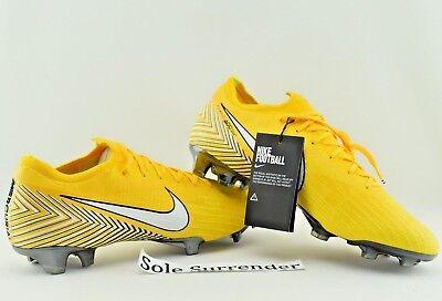 Nike Vapor 12 Elite NJR FG - SIZE 12 - AO3126-710 Boots Low Neymar Jr. 360 White