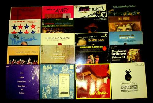 Lot of 20 Vintage 33 RPM LP