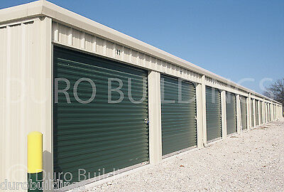 Duro Steel Mini Self Storage 40x360x8.5 Metal Building Prefab Structures Direct