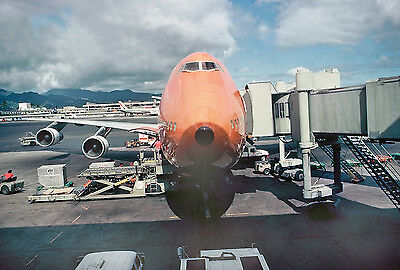"Braniff Airways Boeing 747 ((8""x10"")) Print"
