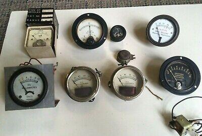 Vintage Analog Panel Meter Virtual Orchard Pick Your Own