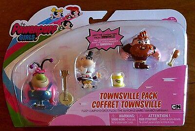 The Powerpuff Girls Townsville Pack Fuzzy Lumpkins Mayor Manboy Doll Figures New - Fuzzy Lumpkins