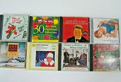 Christmas Jazz CD Lot of 8 Jingle Jazz Christmas in Dixieland Santa Claus Blues ()
