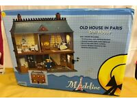 Eden Madeline Old House In Paris Doll House Dollhouse Roof /& Wall White Clips