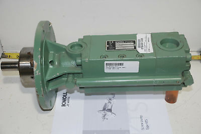 Knoll High Pressure Cooling Coolant Cutting Fluid Pump 12.9 Gpm 1300psi W25hp