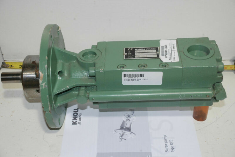 Knoll High Pressure Fluid Pump 12.9 GPM @ 1300PSI w/25HP