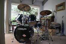 5 Piece maple kit with cymbals and hardware (+ Double kick pedal) Ringwood East Maroondah Area Preview
