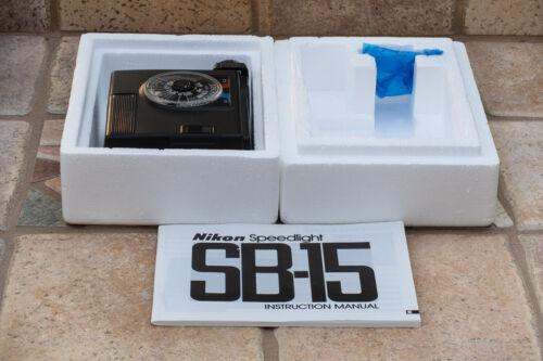 Nikon SB-15 Speedlight in Original Box with Diffuser