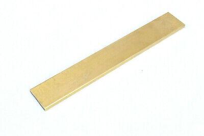 Brass Flat Bar Mill Stock Rod Sheet Custom Length Width Thickness 18 12 14