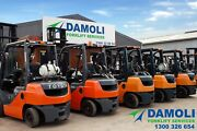 Toyota forklifts - Hire from $150 plus GST per week Melbourne CBD Melbourne City Preview