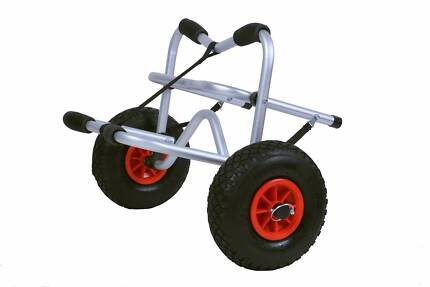 Kayak Trolley Transport Large Tires Heavy Duty Sand Beach Dirt