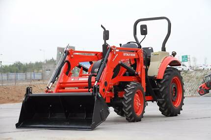 Boton BTB554 ROPS tractor with FEL and 4-in-1 bucket