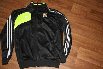 REAL MADRID ADIDAS TRACKSUIT JACKET - LARGE West Swan Swan Area Preview