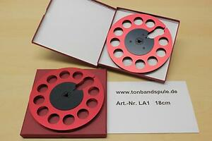 Tonbandspule f. Sony,Akai,Grundig,Revox,Teac  18 cm, 1 PAAR  -NEU - Art-Nr. LA1