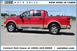 2008 FORD F-150 LARIAT WITH LEATHER