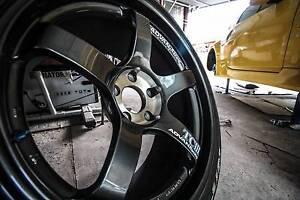 Yokohama Advan Racing TCIII Wheels/Tyres Set Nitto NT01 Smithfield Parramatta Area Preview