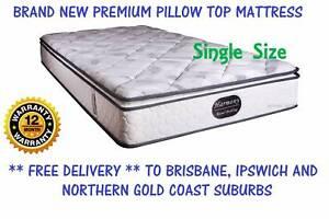 BRAND NEW Single Bed Ensemble - Pillow Top Mattress + Base