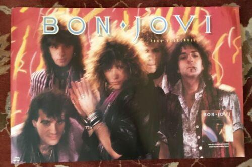 BON JOVI  7800 Fahrenheit  rare original promotional poster