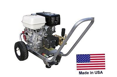 Pressure Washer Portable - Cold Water - 4 Gpm - 4200 Psi - 13 Hp Honda Eng Cat