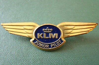 NLD Abzeichen - Niederlande - Royal Dutch Airline - KLM - Junior Pilot