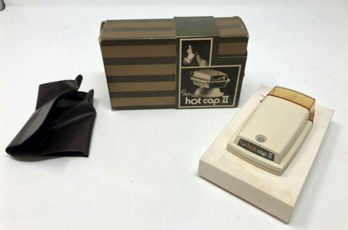 Vintage Rare Sears Hot Cap II Hot Lather Shaving Cream Dispenser