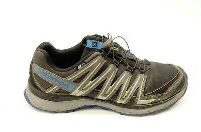 new concept be00f b6adc Salomon Mens XA Comp 8 CS Waterproof Outdoor Hiking Trail Running Shoes Sz  10.5
