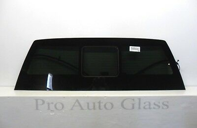 17-19 Ford F-Series F250-F750 Heated Rear Power Slider Back Window Glass OEE USA