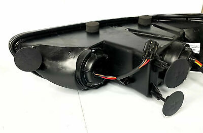 ::Pair Blackout Projection Headlights w/ Dual Function LED Lights for Peterbilt