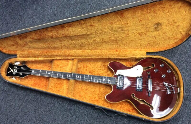 Vintage 1960's Vox Cougar Bass Guitar