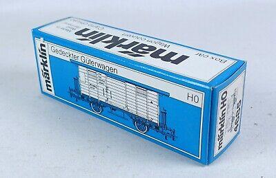 Märklin LEERKARTON 4685 gedeckter Güterwagen Leerverpackung OVP empty box H0