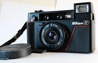 Nikon L35AF 1st Generation 35mm Point and Shoot Film Camera