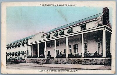 Used, GLEN FALLS NY HALFWAY HOUSE ANTIQUE POSTCARD for sale  Shipping to Canada