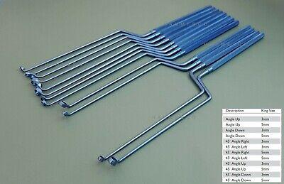 Neuro Curettes Transsphenoidal Ring Curettes Neurosurgery Surgical Instruments