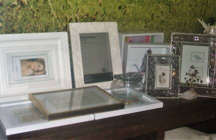 Photo frames - new/used/metal/timber/white/gold etc etc