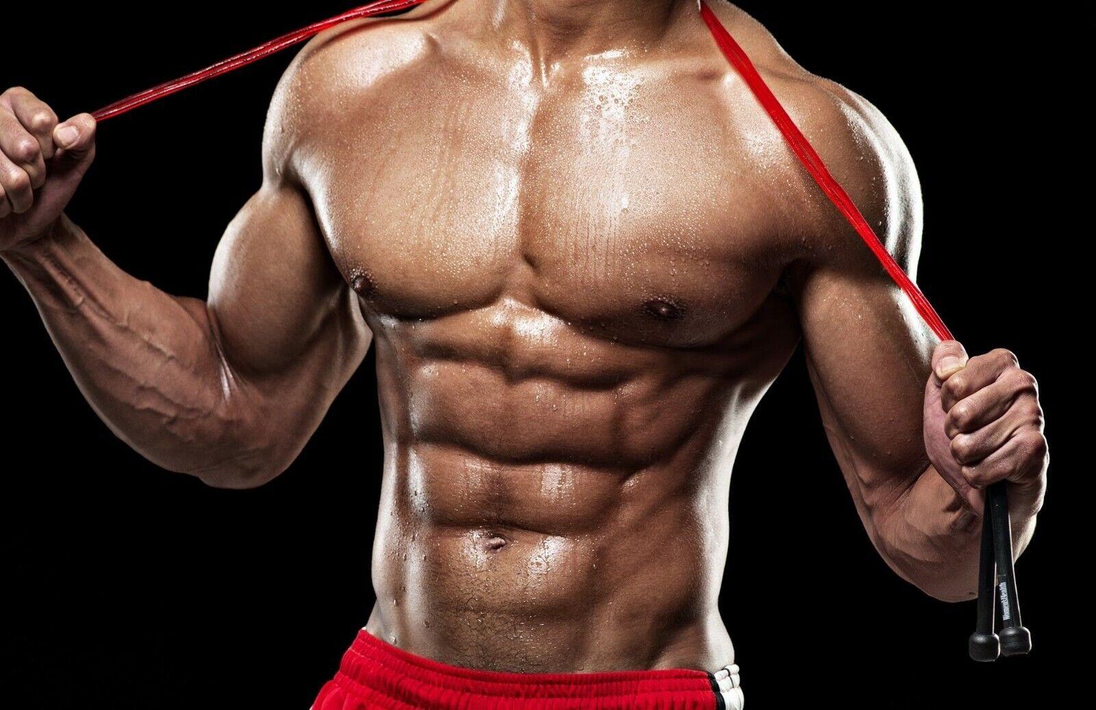 качать мускулы картинки ванной