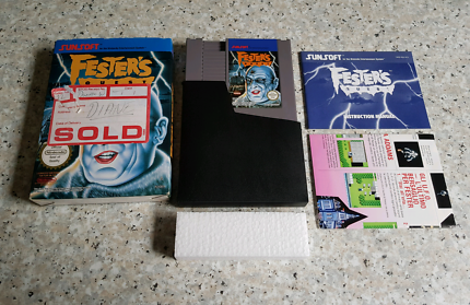 Nintendo NES PAL A Festers Quest CIB with map