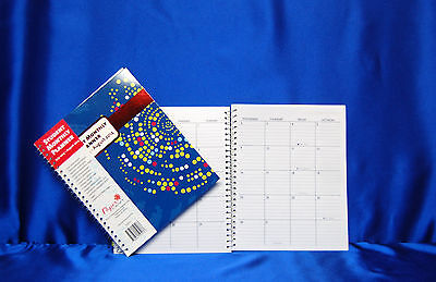 2013 - 2014 Month Academic Planner 5 X 8 Choose Style Next Day Ship 713 - 714