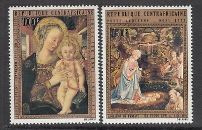 CENTRAL AFRICAN REPUBLIC 1972  Christmas.  MNH