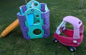 Kids Playgym With Little Tikes Cozy Coupe,Girls Ferntree Gully Knox Area Preview