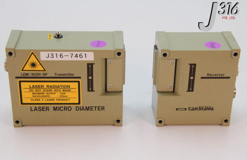 7461 Takikawa Laser Micro Diameter (transmitter & Receiver) Ldm-303h-sp