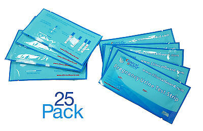 Bale of 25 Early Pregnancy Test Strips From US