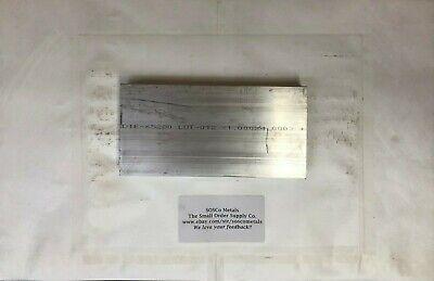 1x 4 Aluminum Flat Bar 8 Long 6061 T6511