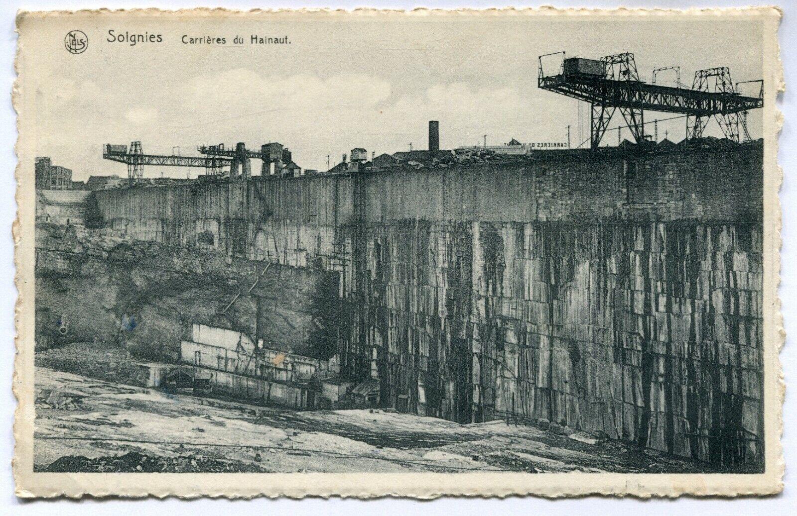 CPA - Carte Postale - Belgique - Soignies - Carrières du Hainaut (D10218)