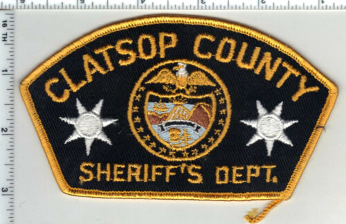 Clatsop County Sheriff (Oregon) 1st Issue Shoulder Patch