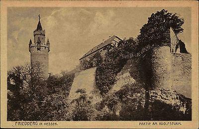 Friedberg Hessen Wetterau ~1920/30 Adolfsturm Turm Wahrzeichen Bauwerk Gebäude