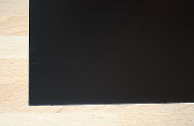 1 Polystyrol Platte schwarz 320x200x1mm