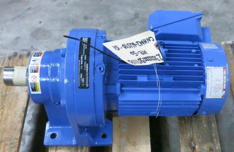 Sumitomo CNHM2-6125YB-51 2HP 460V V90L Gear Reducer 3PH Motor 1740RPM TEFC 3PH