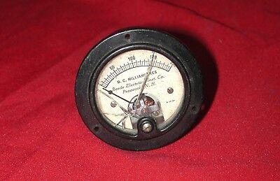 Beede 0 - 200 Ma Dc Tube Amplifier Preamp Tester Analog Milliamperes Meter